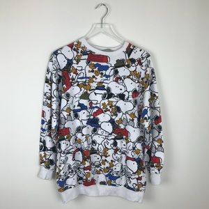 Zara Snoopy Print Sweatshirt